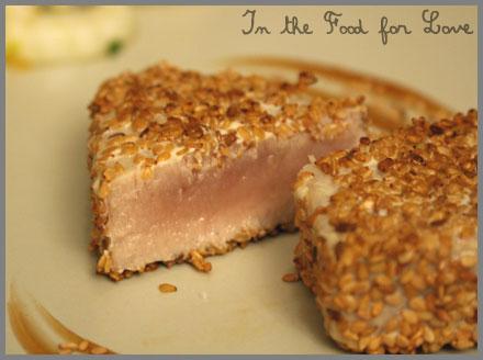 Thon Mi Cuit Pane Aux Graines De Sesame Food For Love
