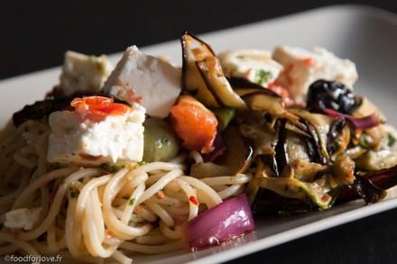 spaghetti a la grecque