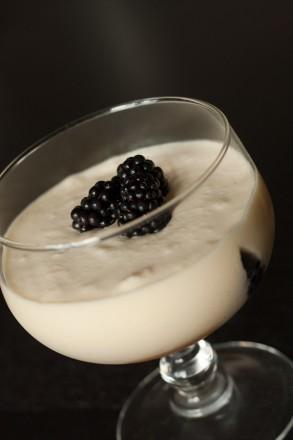 Trifle mascarpone mure limoncello