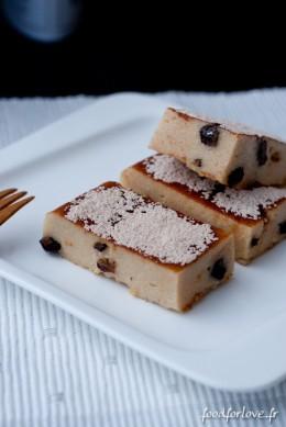 Bûchettes de Polenta aux Raisins et au Rhum, Sans Gluten