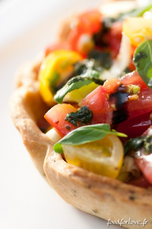 salade italienne en cro te food for love. Black Bedroom Furniture Sets. Home Design Ideas