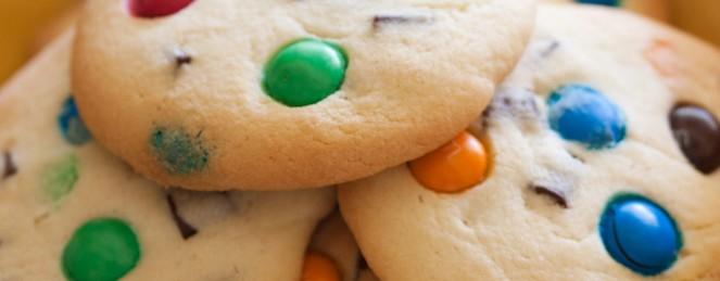 Cookies aux Pépites de Chocolat et M&M's
