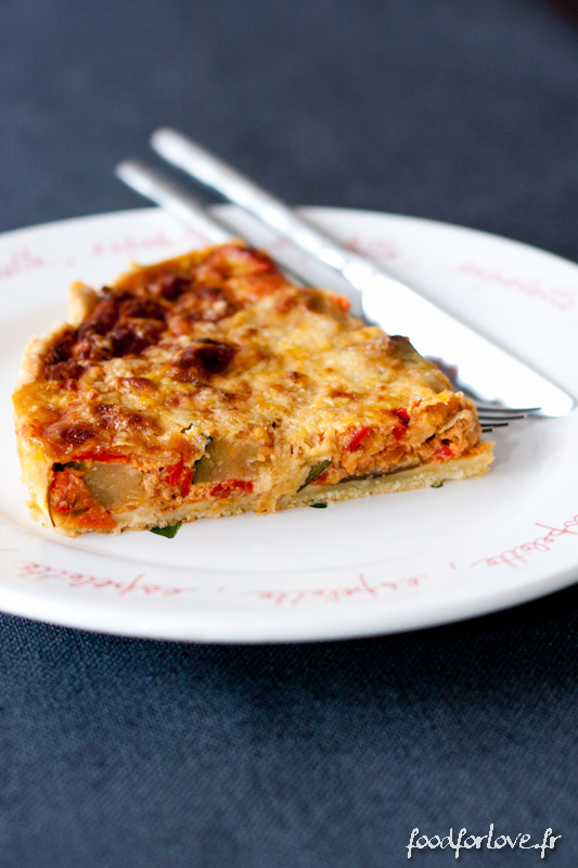 tarte ratatouille pecorino-7
