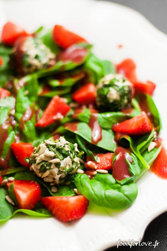 salade petits chevre basilic tournesol epinards fraise andros-3