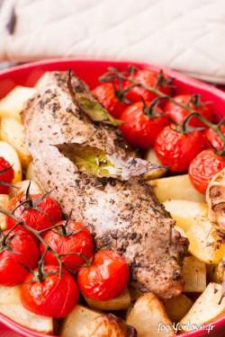 mignon porc origan pdt tomate-3