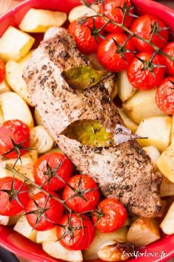 mignon porc origan pdt tomate-4