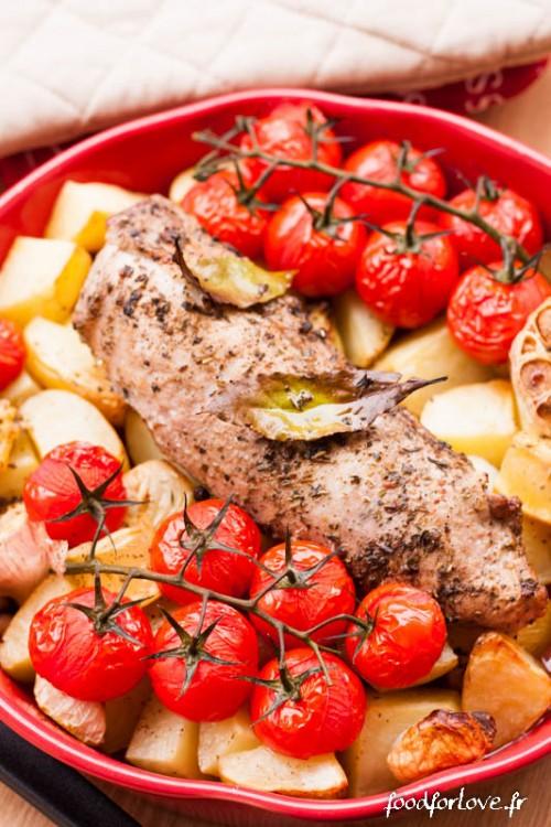 mignon porc origan pdt tomate-6