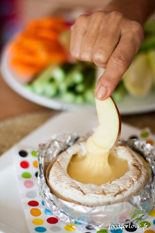 camembert roti crudites apero-3