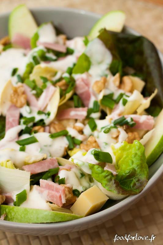 salade endive jambon noix pomme-5