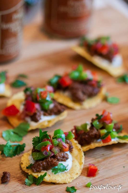 bouchees de nachos a la mexicaine-7