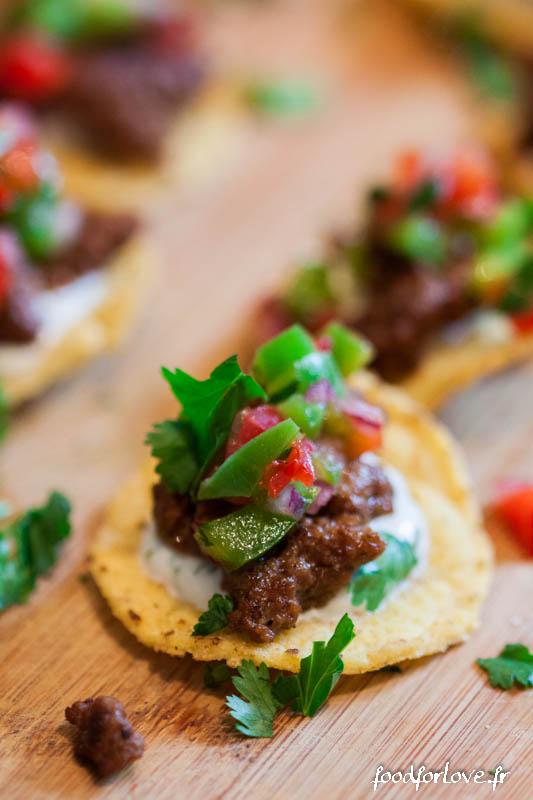 bouchees de nachos a la mexicaine