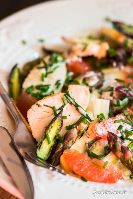 salade asperges crues poulet pamplemousse-2