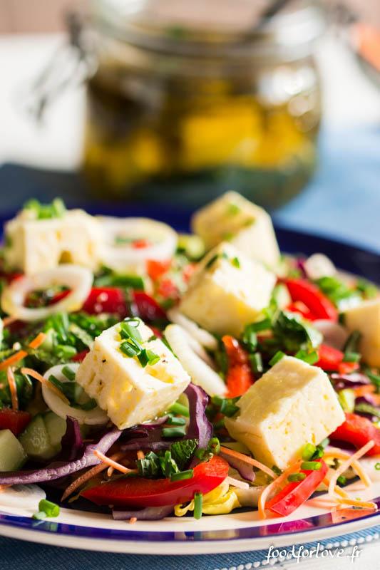 feta marinee salade composee-6