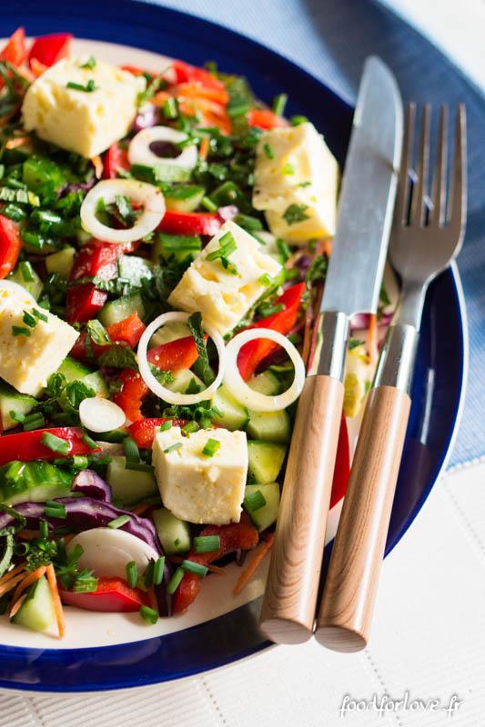 feta marinee salade composee-7