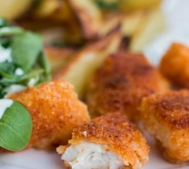 Nuggets de Joue de Baudroie au Parmesan et Paprika