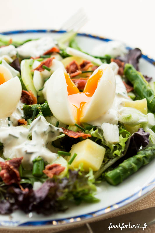 salade oeufs mollet pdt concombre asperges-2