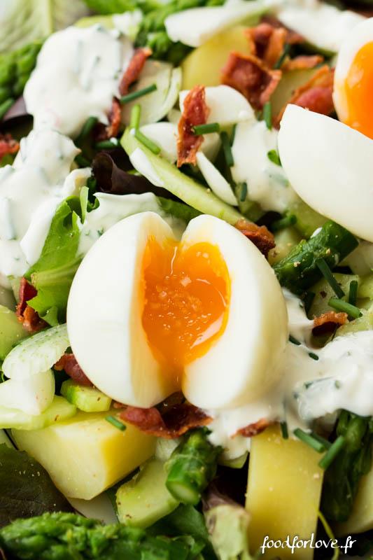 salade oeufs mollet pdt concombre asperges-5
