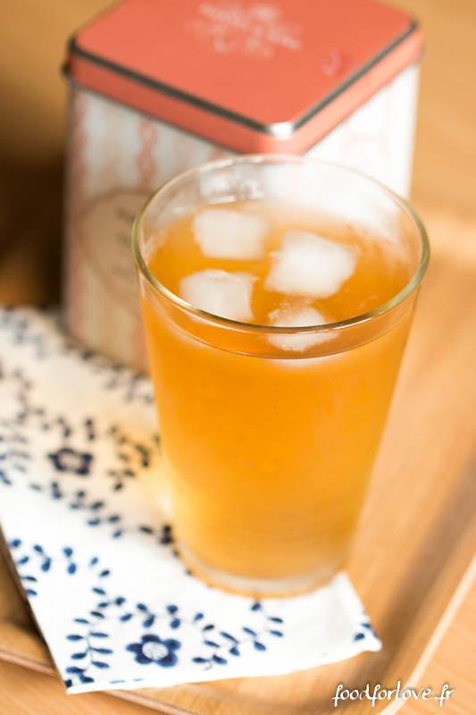 recette glace eau