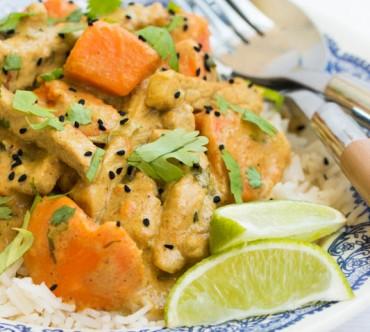 Comme un Curry … Porc au Garam Massala et aux Patates Douces