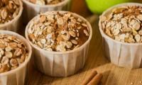 Muffins aux Pommes, Muesli, Noisette et Cannelle