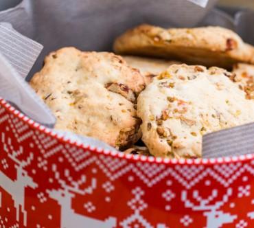 Cookies Muesli, Abricots et Pistaches