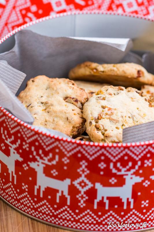 cookies abricots pistaches muesli