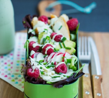Blue Friendship Salad
