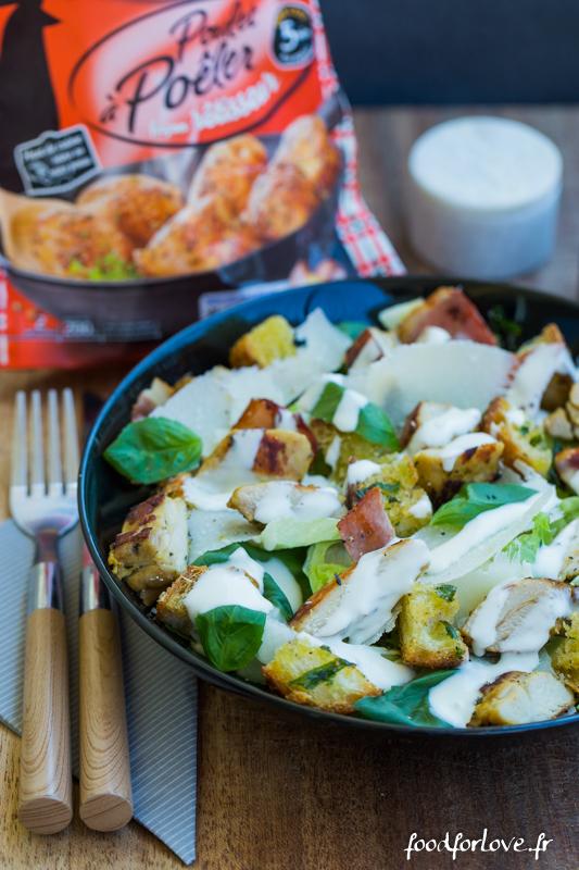 salade caesar maitre coq