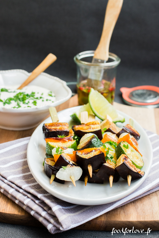brochettes legumes sauce tahin-4