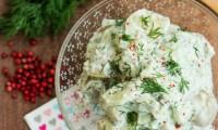 Salade de Pommes de Terre et Concombre au Yaourt et à l'Aneth
