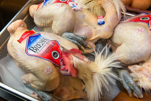 Maîtres Restaurateurs - AFMR-La Brigade des Blogueurs - Les plats - Panier mystère : Poulet de Bresse