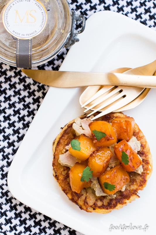 pain perdu foie gras mangue-15