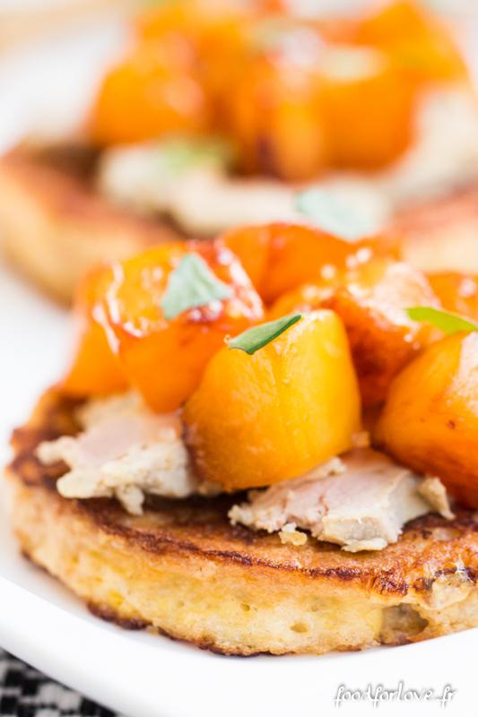 pain perdu foie gras mangue-4