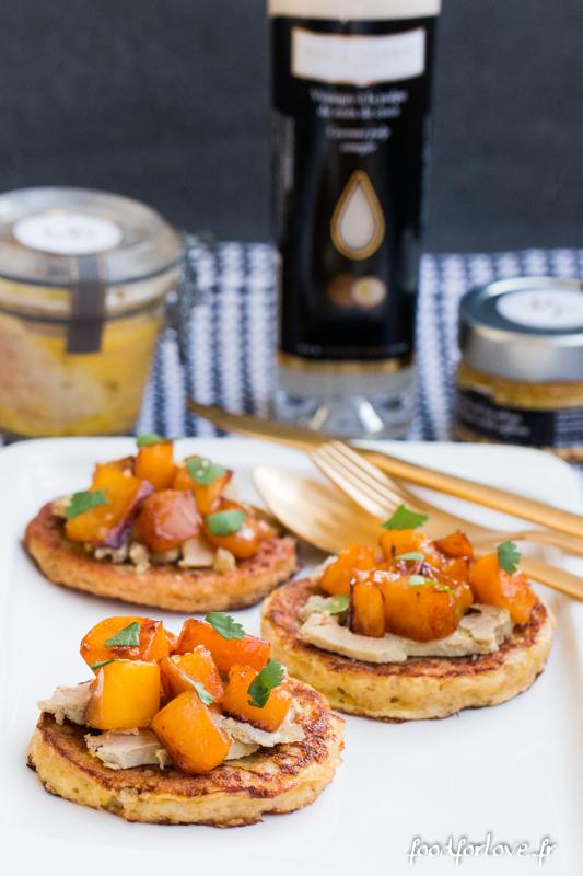 pain perdu foie gras mangue-8