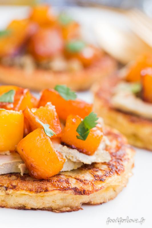 pain perdu foie gras mangue-9