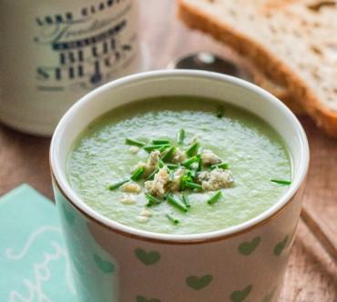 Soupe de Brocoli et Chou-fleur au Stilton
