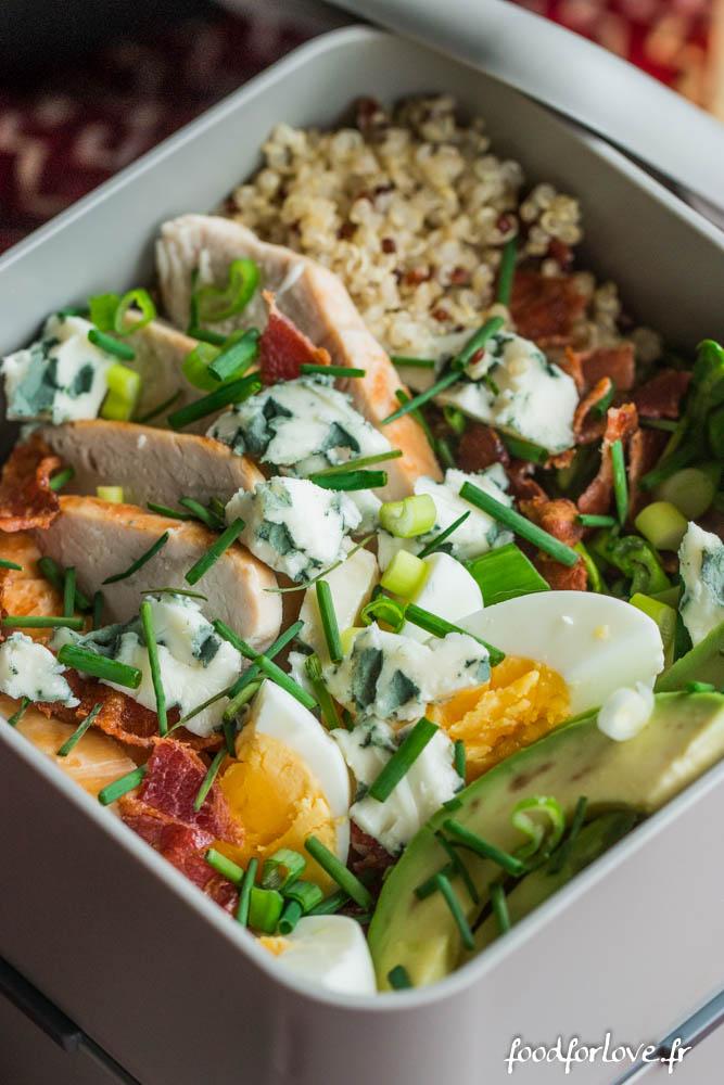 salad cobb mon bento (10 sur 10)