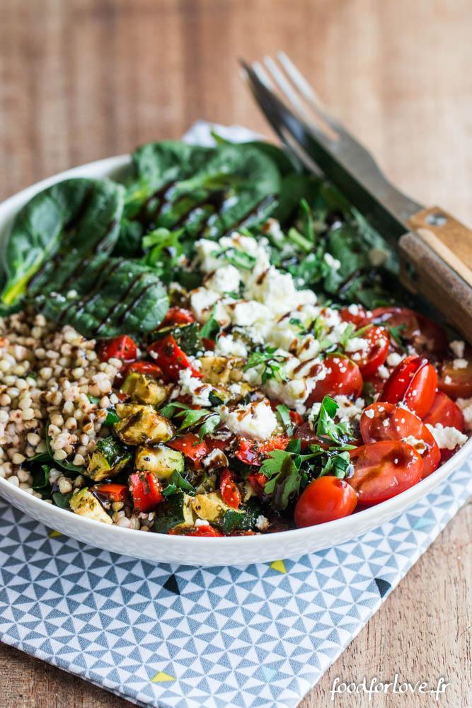 assiette complete legumes grilles (2 sur 7)