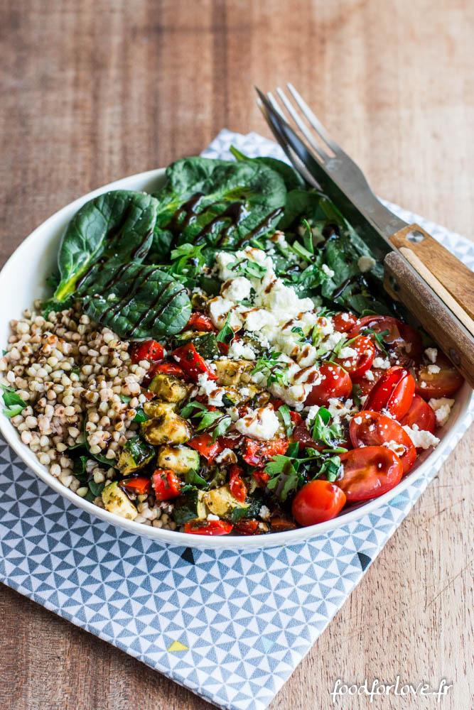 assiette complete legumes grilles (7 sur 7)