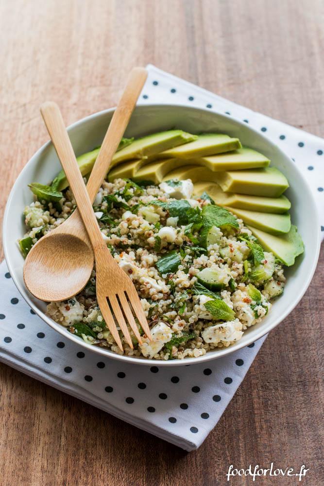 salade quinoa concombre feta menthe avocat (10 sur 16)
