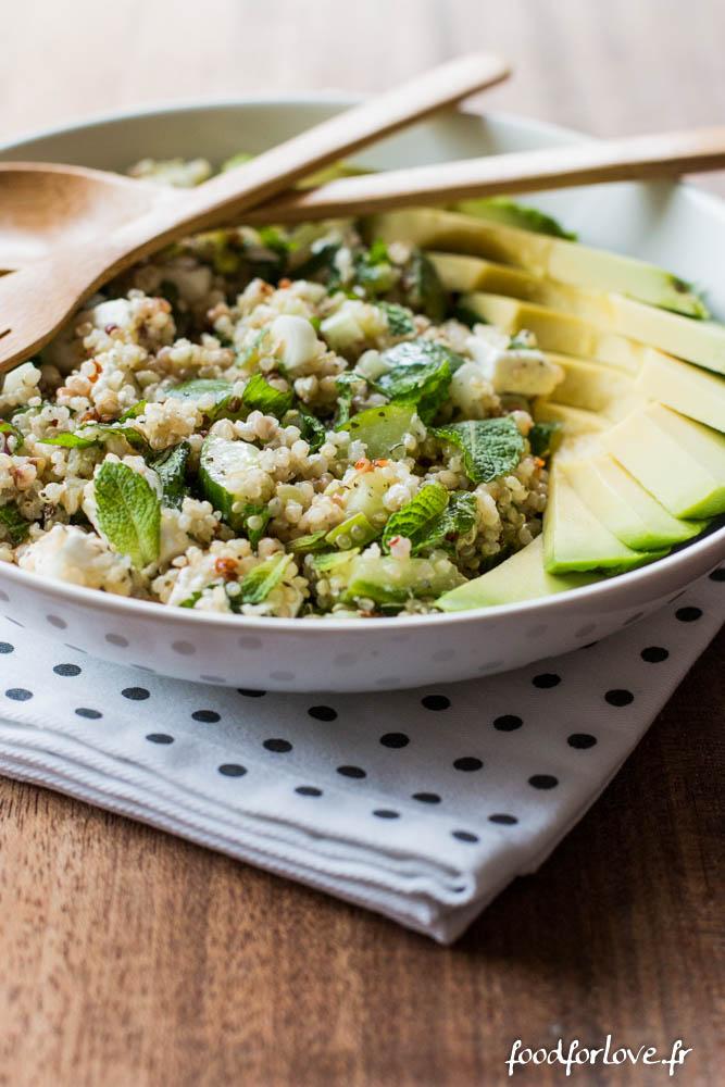 salade quinoa concombre feta menthe avocat (12 sur 16)