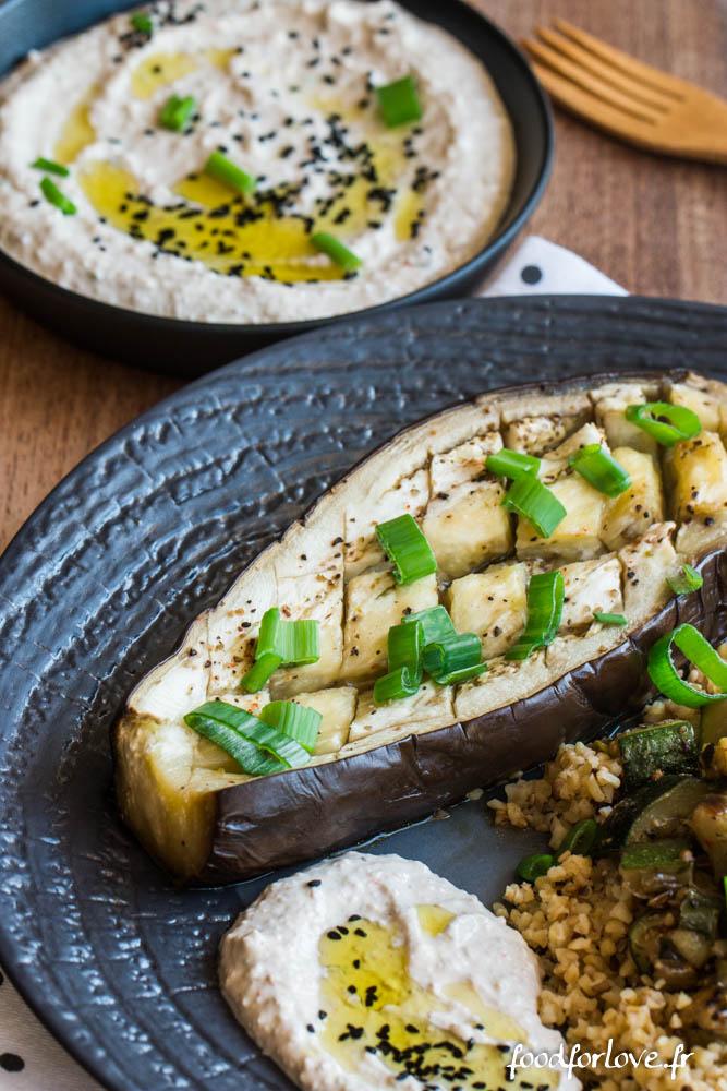 aubergine grillee sauce tahin noix (10 sur 11)