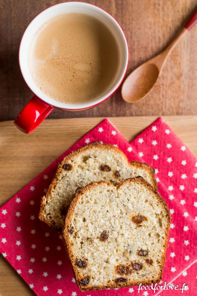 cake sans gluten banane coco rhum raisins (3 sur 8)