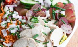 Salade au Poulet & Raisins