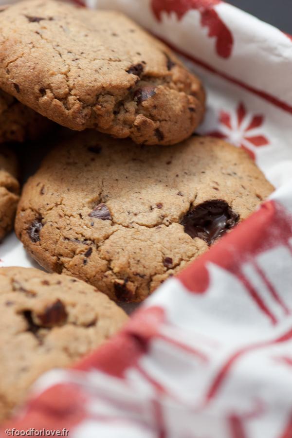 cookies chocolat noisettes sans gluten food for love. Black Bedroom Furniture Sets. Home Design Ideas