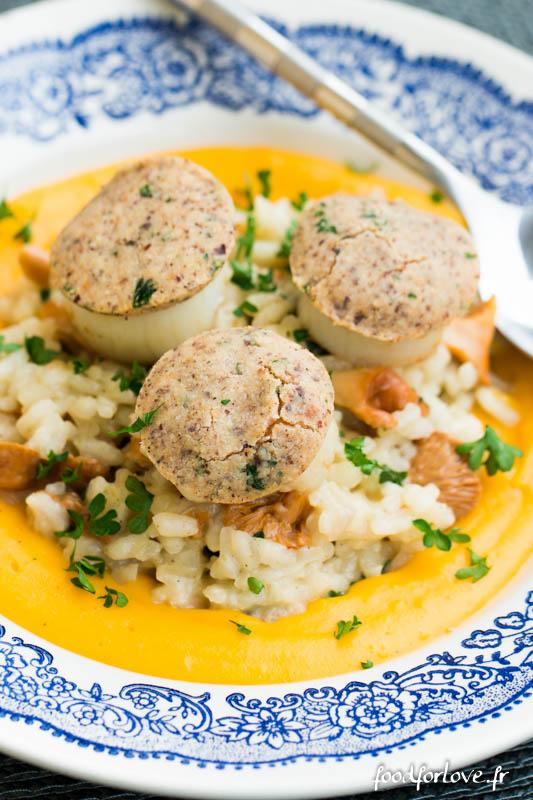 Mulsion de butternut la noix de muscade risotto aux for Noix de muscade cuisine