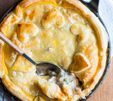 Chicken & Pea Pot Pie