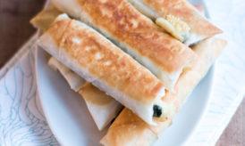 Beurek Epinards, Pistaches, Menthe & Fromage